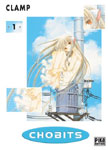 Couverture du tome 1 de Chobits de Clamp chez Pika