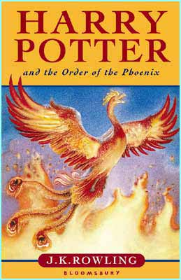 couverture 5 harry potter the order of the phoenix