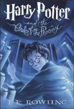 couverture Harry potter the order of the phoenix
